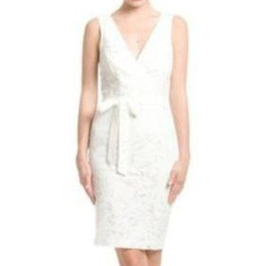 NWT Plenty by Tracy Reese white lace dress size 10